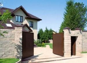 выбрать въездные ворота для дачи