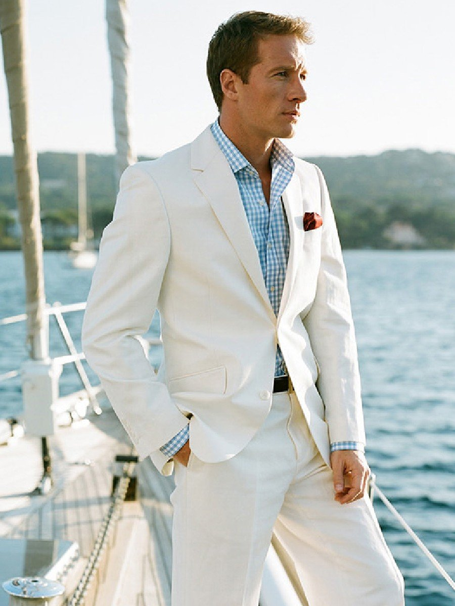 Как выбрать мужской свадебный костюм