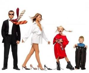 выбор одежды для всей семьи