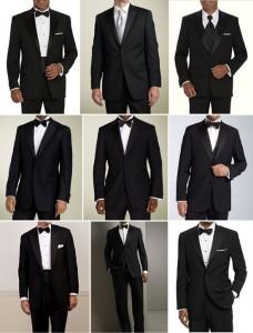выбрать мужской свадебный костюм