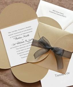 Как правильно оформить свадебные приглашения