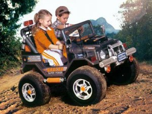 Советы по выбору детских электромобилей