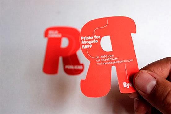 Как создать креативную визитную карточку
