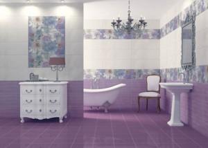 выбрать плитку в ванную