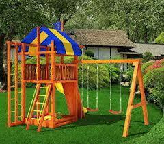 Как сделать детскую площадку дома