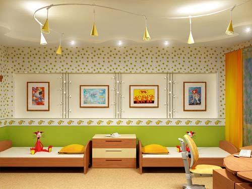 Советы по выбору освещения в детскую комнату
