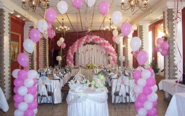 Советы по украшению и оформлению свадебных залов