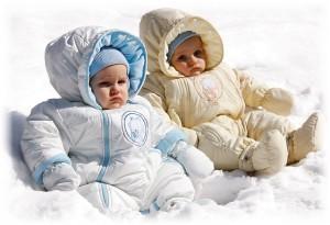 Выбираем комбинезон для малышей
