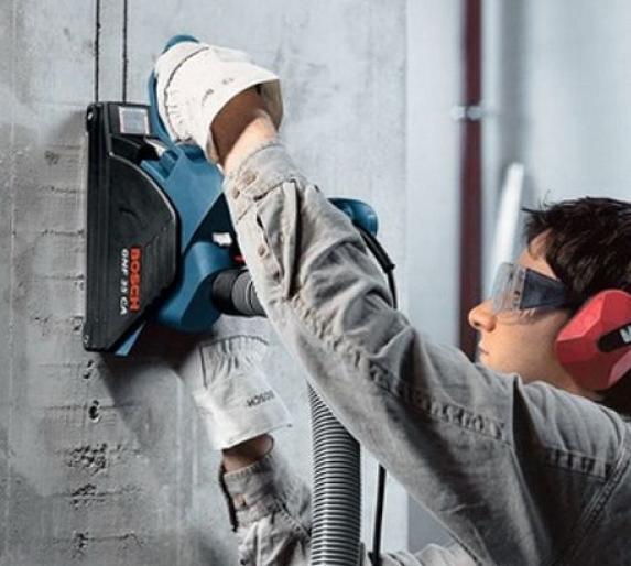 Как правильно выполнить штробление бетонной стены
