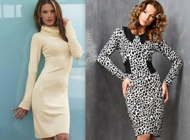 Как правильно выбрать платье из трикотажа