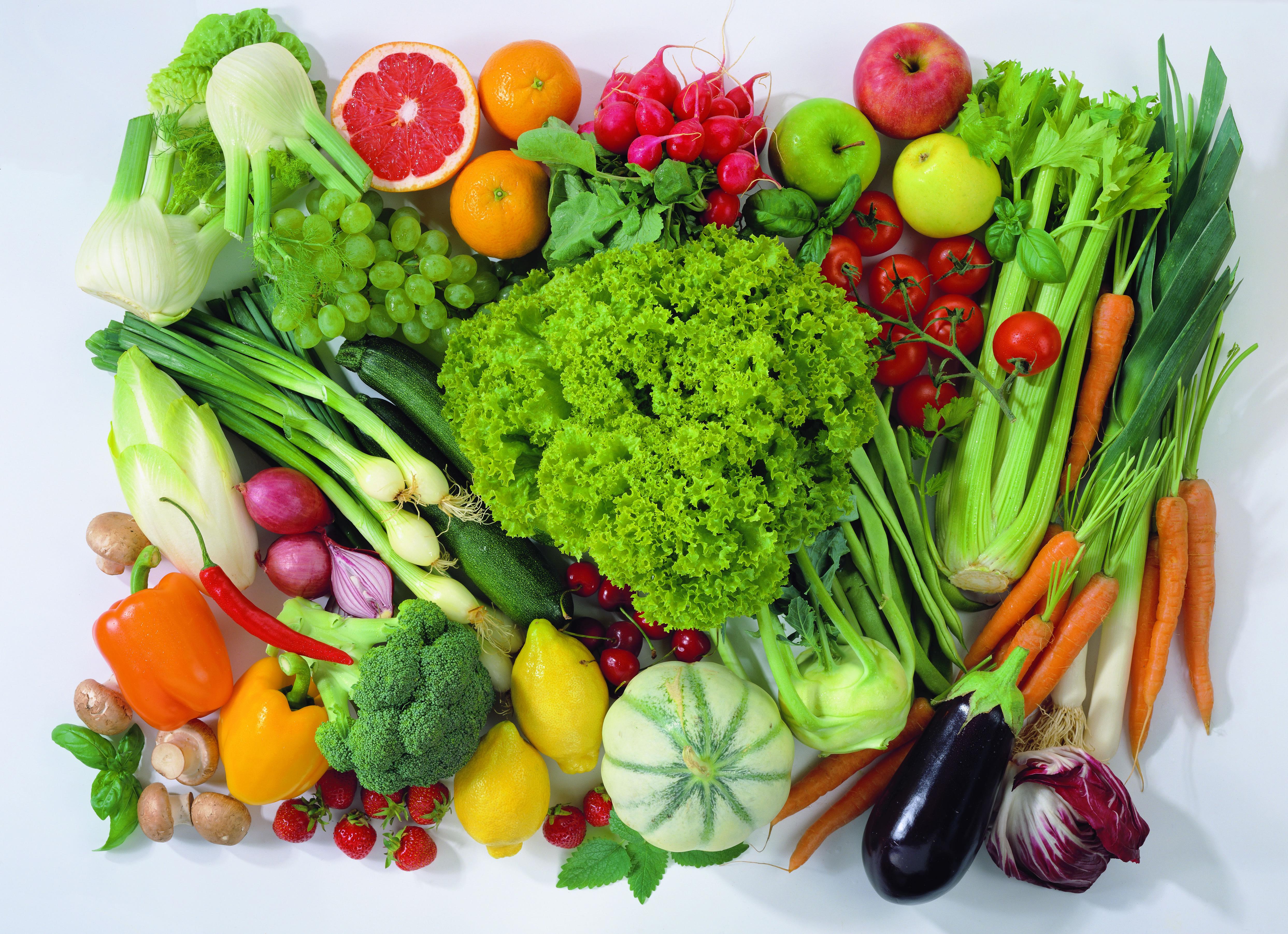 Овощи и фрукты — важнейшие поставщики витаминов