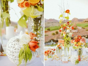 Весенняя свадьба. Оформление цветами