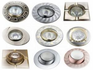 выбрать потолочные светильники