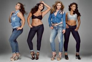 выбрать женскую одежду больших размеров