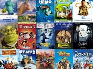 Список лучших мультфильмов