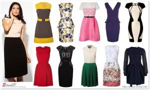 выбор платьья