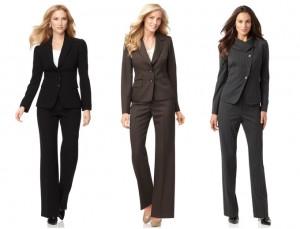 выбор женского делового костюма