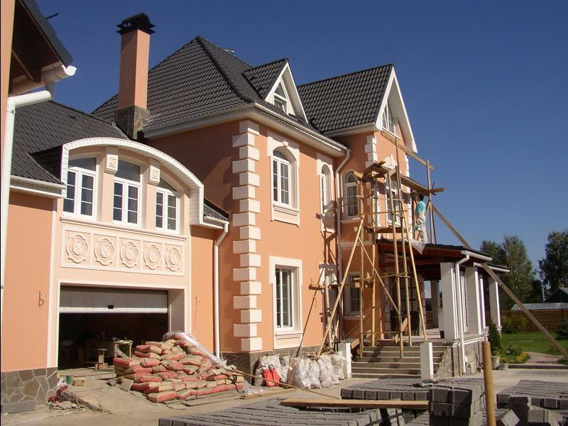Компании ремонт фасадов зданий