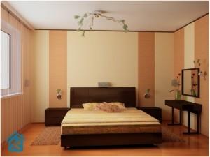 Ремонт спальной комнаты – романтический белый цвет