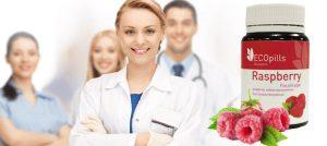 Шипучие таблетки Eco Pills Raspberry для похудения