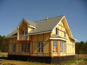 Как правильно построить канадский дом