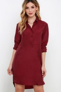 Как выбрать платье-рубашку