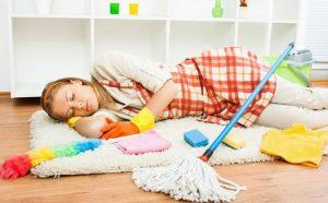 Как быстро убрать дом