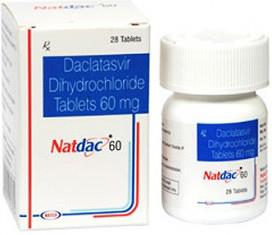 Лекарственное средство Natdac с Даклатасвиром для лечения гепатита С