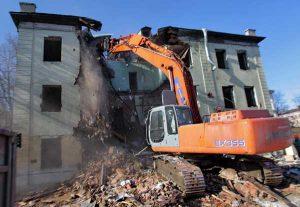 Демонтаж зданий как бизнес