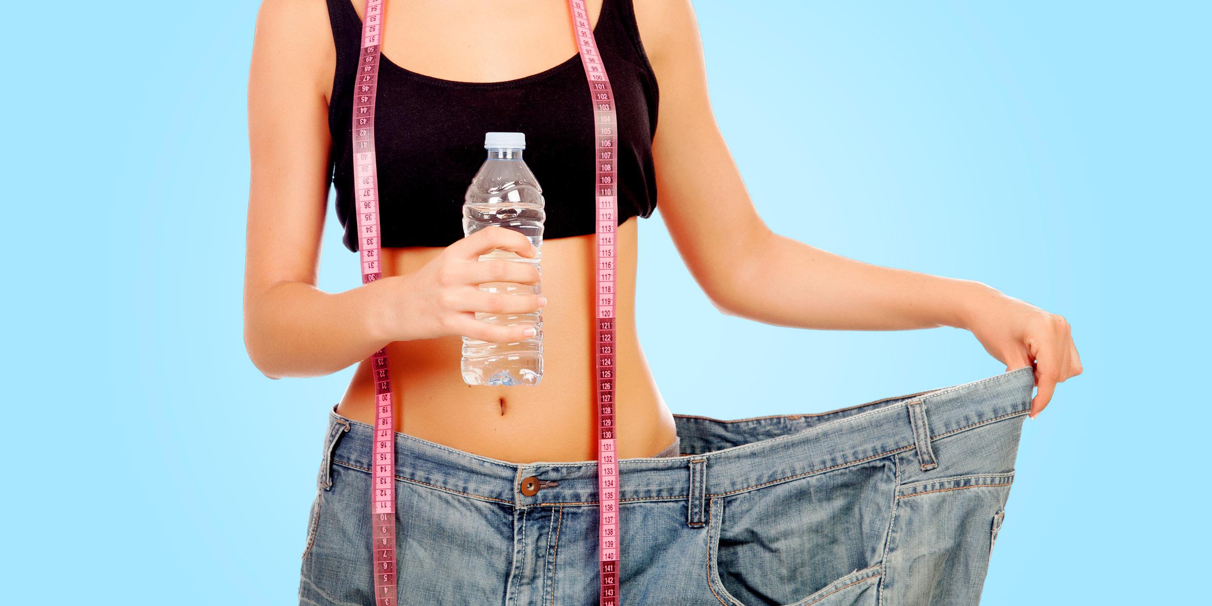 зачем пить много воды при похудении